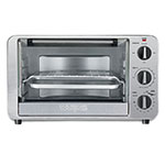 Waring TCO600 Convection Toaster Oven, Holds 12-in Pizza, Brushed Stainless TCO600