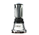 Waring BB160S 2-Speed Bar Blender w/ 32-oz Capacity & Stainless Container, Chrome Zinc Base