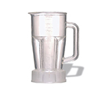 Waring CAC67 48-oz Clear Blender Style Serving Pitcher for Bar Promotional Kit w/ Lid