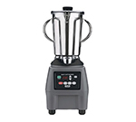 Waring CB15T Heavy Duty Food Blender w/ 1-gal Stainless Container & 2-Handles, Clear Lid, Keypad