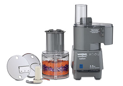 Waring FP25C 2.5-qt Commercial Food Processor w/ Vertical Chute Continuous Feed & Batch Bowl