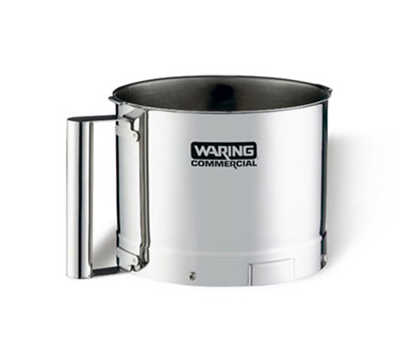 Waring FP25SSB 2.5-qt Stainless Batch Bowl for FP25 & FP25C w/ Handle