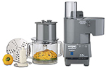 Waring FP40C 4-qt Continuous Feed Food Processor w/ Vertical Chute Feed & Polycarbonate Batch Bowl