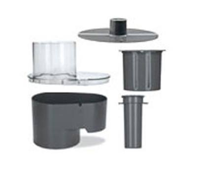 Waring FP260 Continuous Feed Chute Set for FP25 & FP25C w/ Cover, Plunger & Slinger
