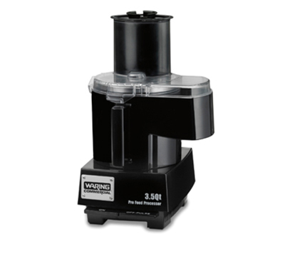 Waring WFP14SC 3.5-qt Continuous Feed Food Processor w/ Polycarbonate Batch Bowl