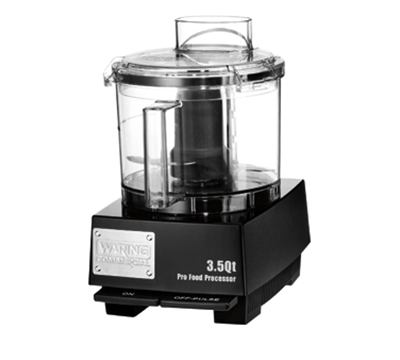 Waring WFP14SW 3.5-qt Commercial Food Processor w/ Vertical Chute Feed & Polycarbonate Bowl
