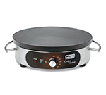 Waring WSC160 Crepe Maker w/ 16-in Cast Iron Cook Surface & Adjustable Thermostat