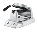 Waring WW180 Single Belgian Waffle Maker w/ Measuring Cup & Drip Tray, 6-Settings