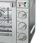 Waring WCO500X Half-Size Countertop Convection Oven, 120v