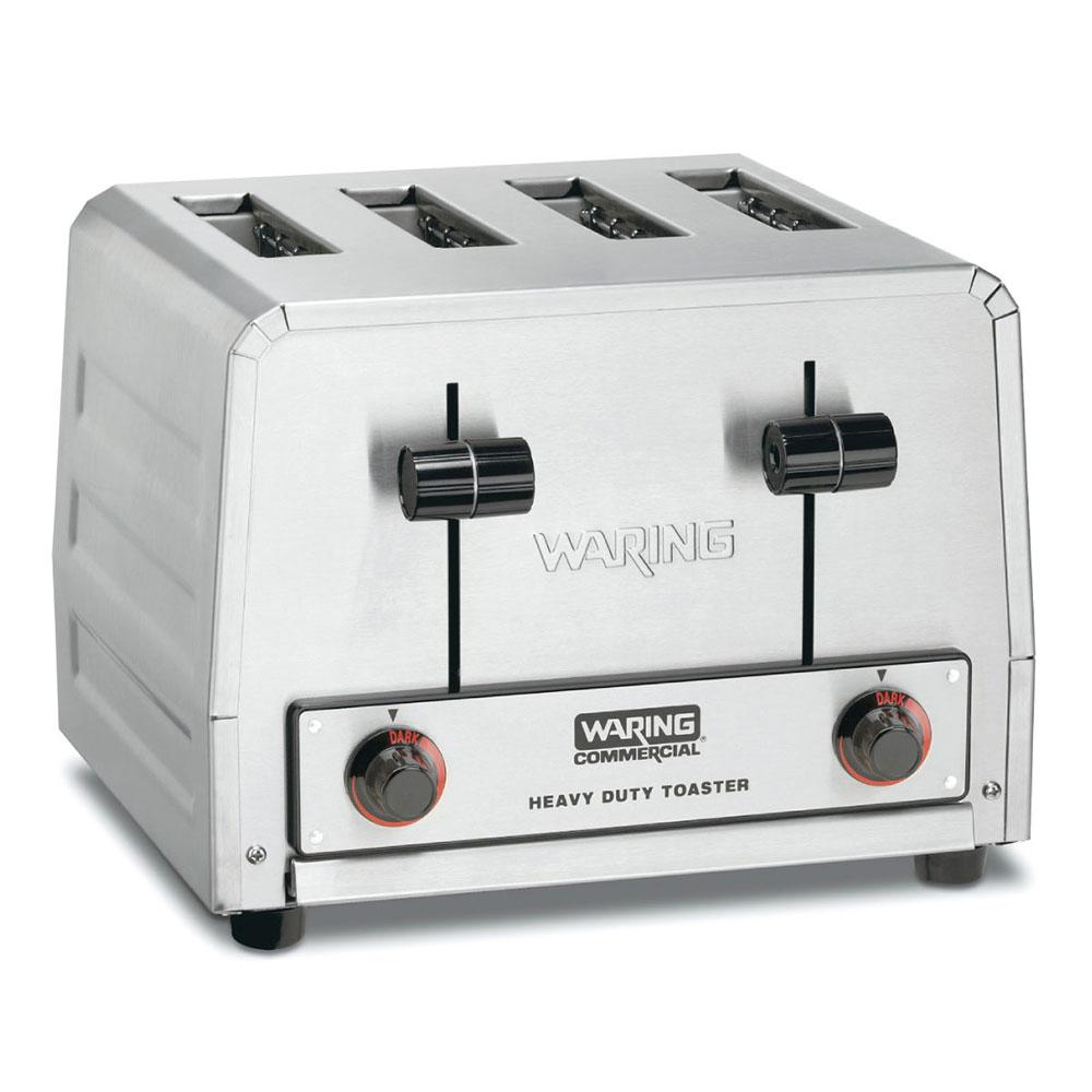 """Waring WCT800 Slot Toaster w/ 4-Slice Capacity & 1.125""""W Product Opening, 120v"""