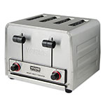 "Waring WCT800RC Slot Toaster w/ 4-Slice Capacity & 1.125""W Product Opening, 120v"