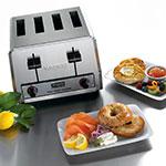 """Waring WCT805B Slot Toaster w/ 4-Slice Capacity & 1.125""""W Product Opening, 208v/1ph"""