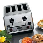 "Waring WCT850RC Slot Toaster w/ 4-Slice Capacity & 1.5""W Product Opening, 120v"