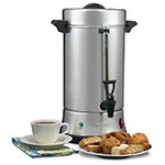 Waring WCU550 55-Cup Coffee Urn w/ Dual Heater System & Ready/Power On Indicators