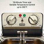 Waring WDF1000 Countertop Electric Fryer - (1) 10-lb Vat, 120v