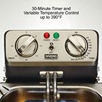Waring WDF1000B Countertop Electric Fryer - (1) 10-lb Vat, 208v/1ph