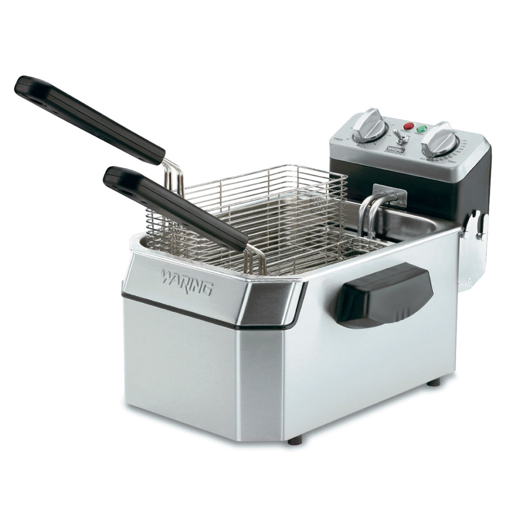 Waring WDF1550 Countertop Electric Fryer - (1) 15-lb Vat, 240v/1ph