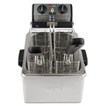 Waring WDF75RC Countertop Electric Fryer - (1) 8.5-lb Vat, 120v