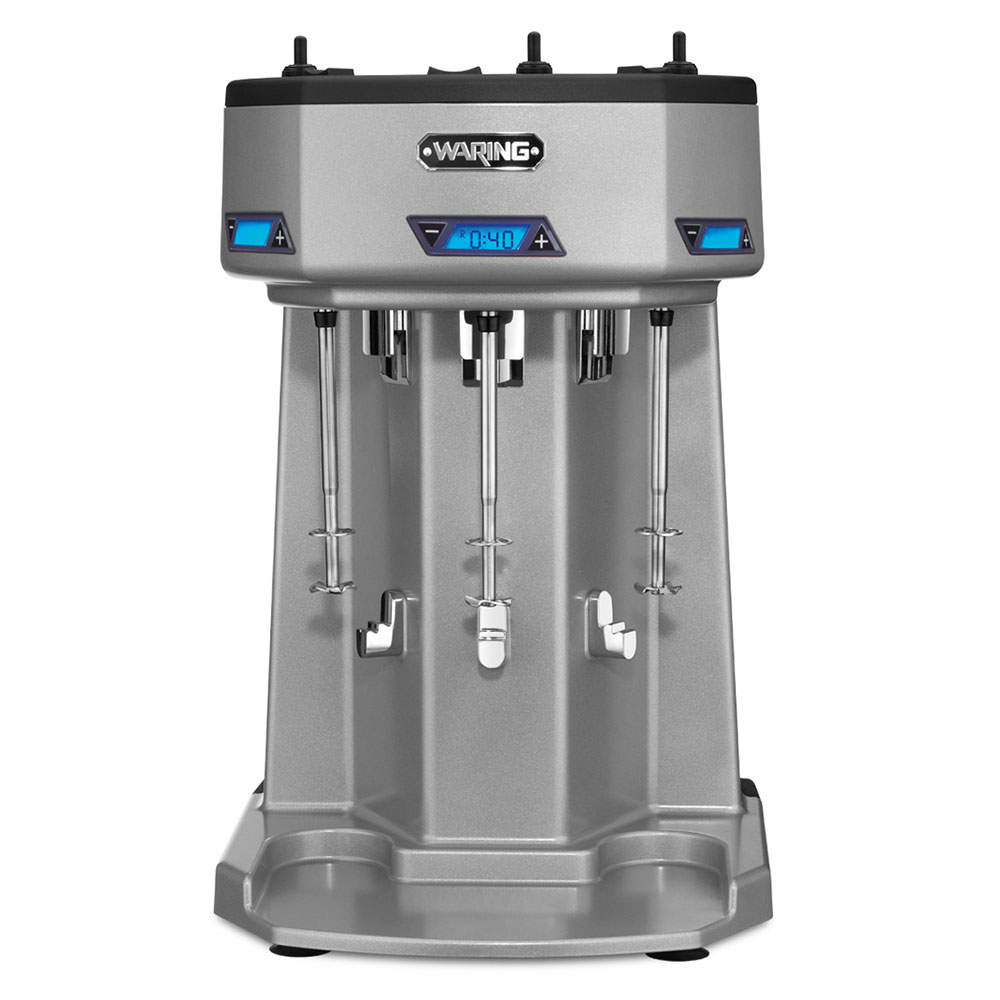 Waring WDM360T Triple Spindle Drink Mixer w/ 3-Speeds, Countertop, 120v