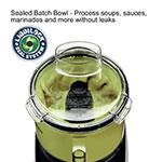 Waring WFP11SW 1-Speed Cutter Mixer Food Processor w/ 2.5-qt Bowl, 120v