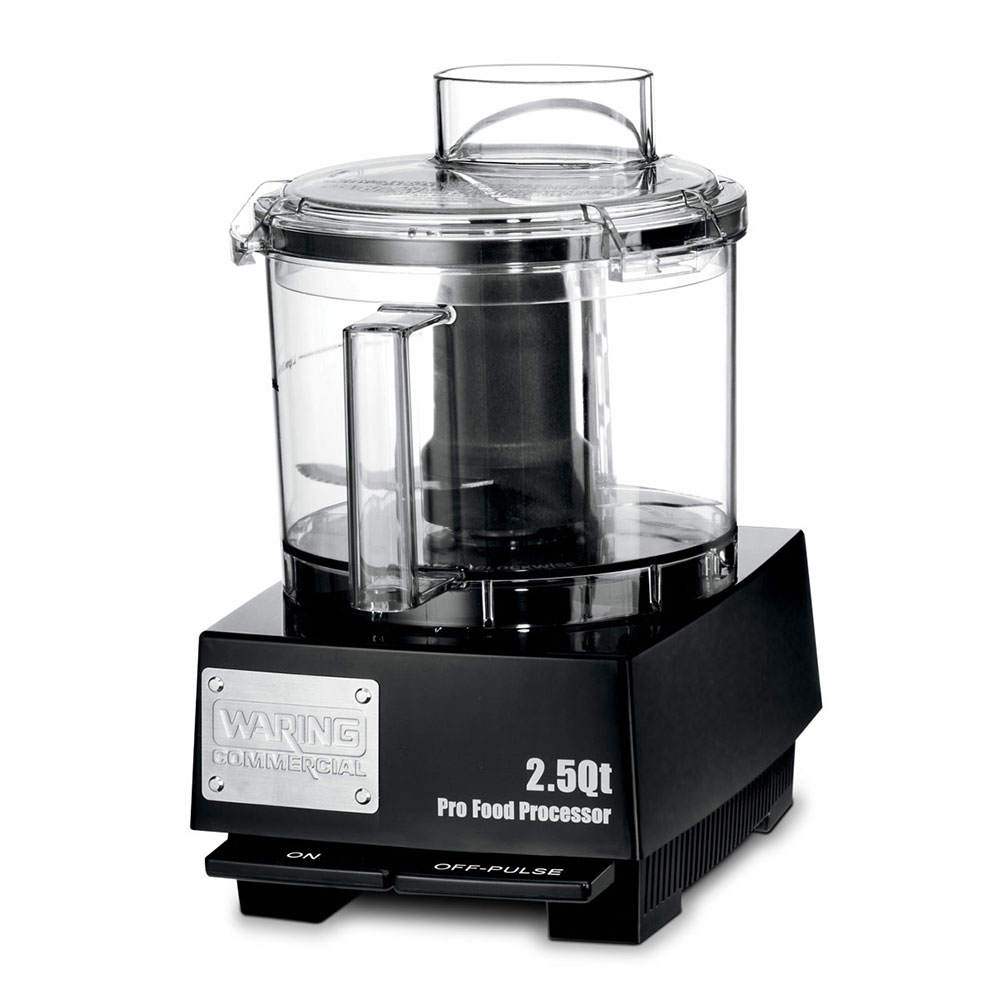 Waring WFP11SW 1-Speed Cutter Mixer Food Processor w/ 2.5-qt Bowl, 120v