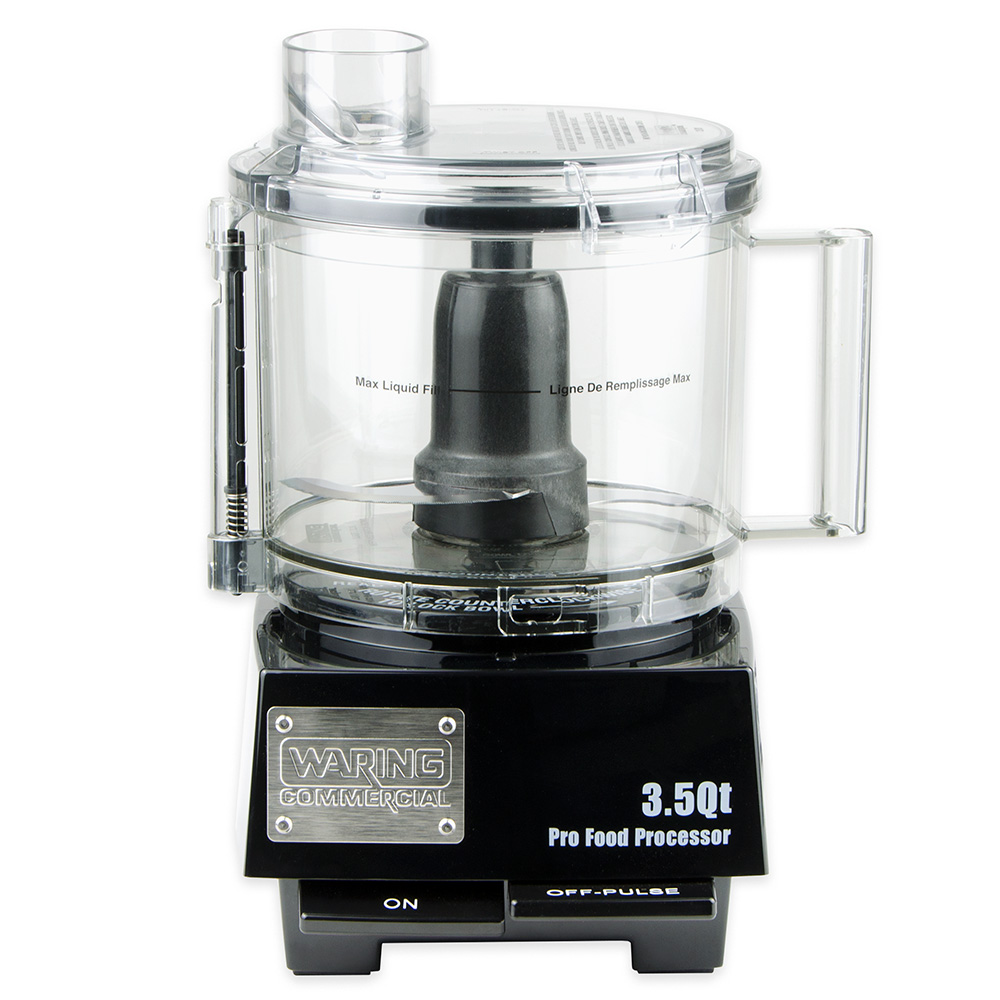 Waring WFP14S 3.5-qt Food Processor w/ Liquid Seal & Vertical Chute Design, 120 V