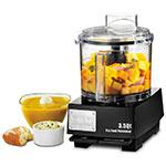 Waring WFP14SW 1-Speed Cutter Mixer Food Processor w/ 3.5-qt Bowl, 120v