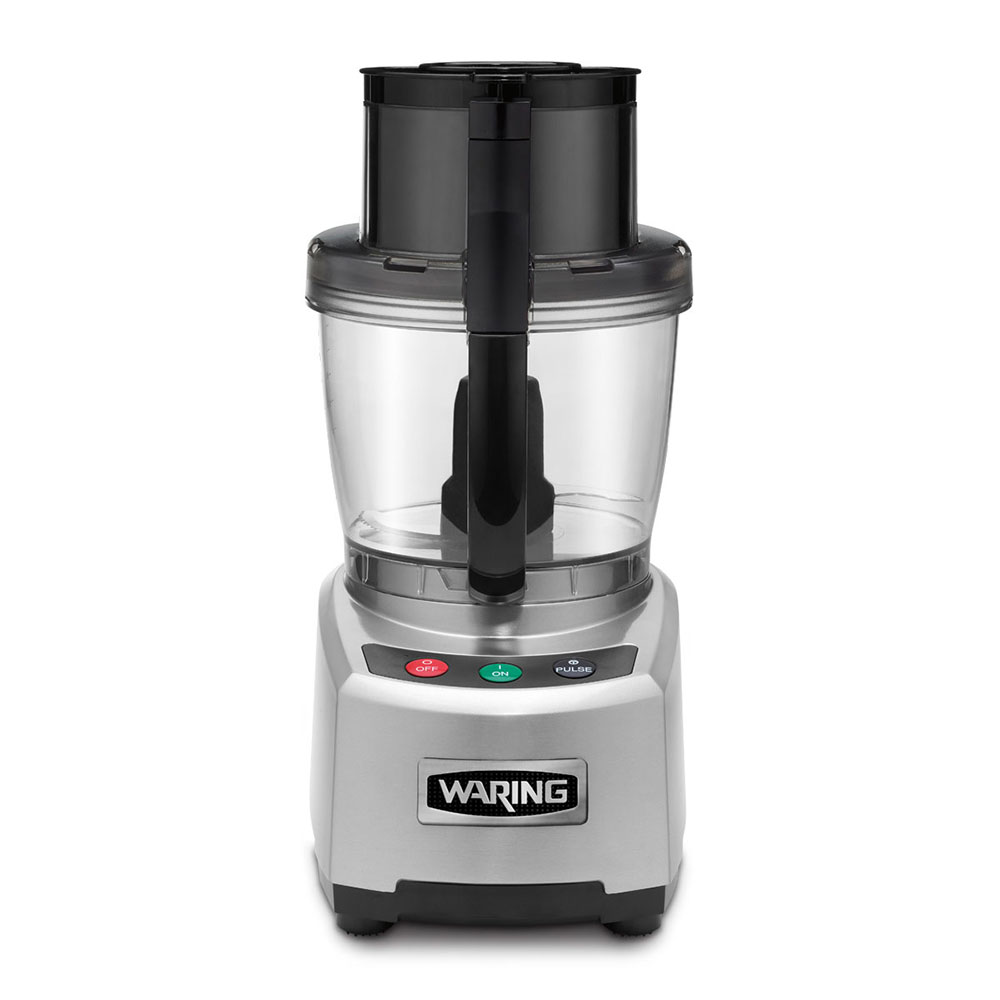 Waring WFP16S 4-qt Food Processor w/ Batch Bowl & Feed Operation