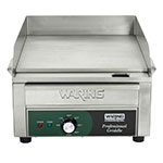 "Waring WGR140 14"" Electric Griddle - Thermostatic, 1""  Plate, 120v"