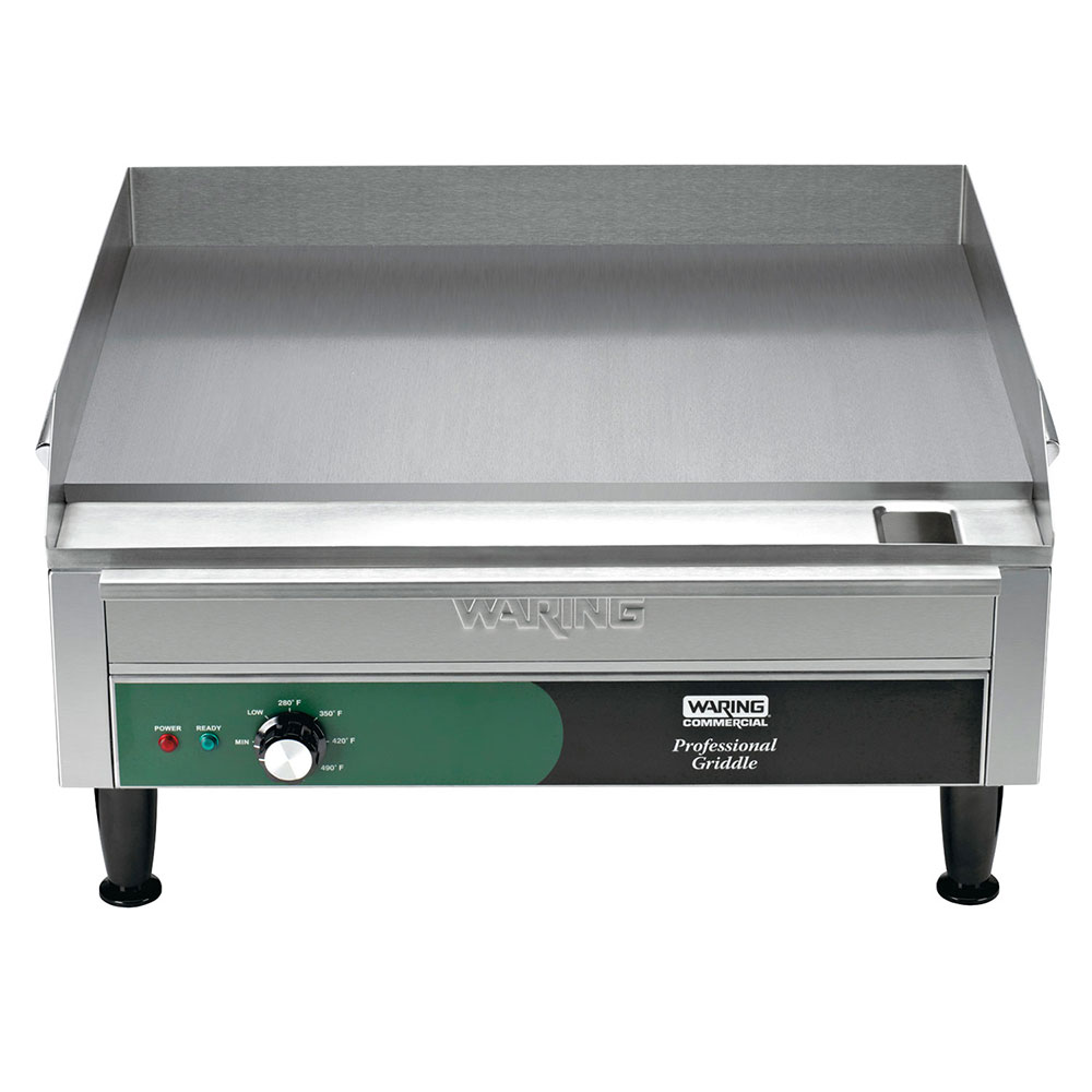 "Waring WGR240 24"" Electric Griddle - Thermostatic, 1""  Plate, 240v/1ph"