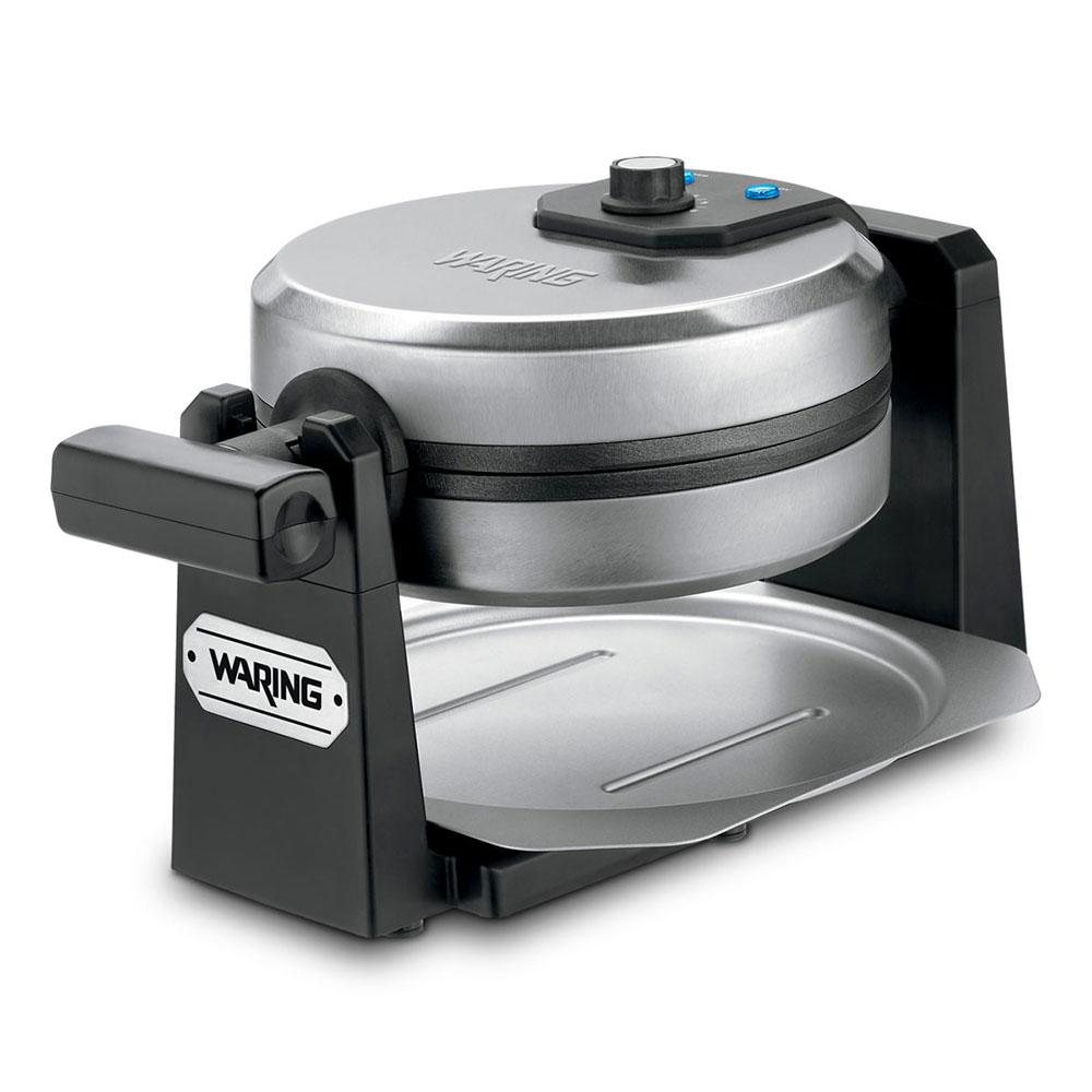 Waring WMK200 Belgian Waffle Maker - Browning Control Knob, Brushed Stainless