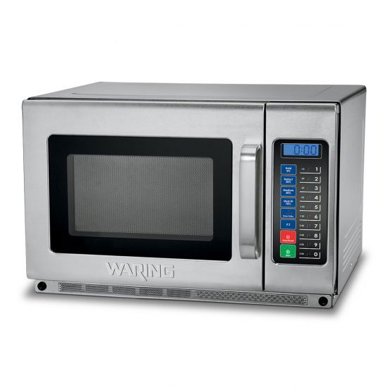 Waring WMO120 1800w Commercial Microwave w/ Touch Pad, 208v
