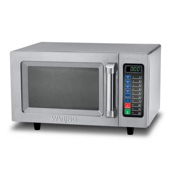 Waring WMO90 1000w Commercial Microwave w/ Touch Pad, 208-230v/1ph