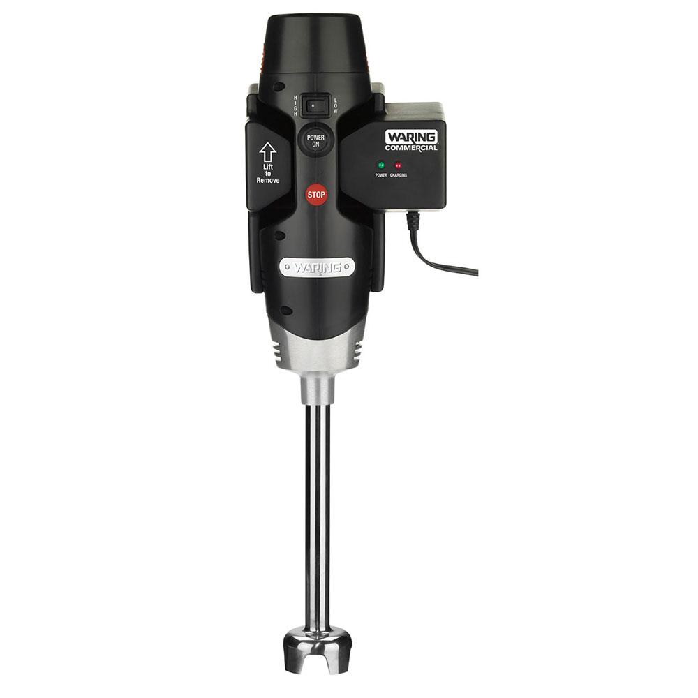 Waring WSB25X Medium Duty Immersion Blender w/ 24-qt Capacity, 2-Speed