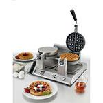 Waring WW250B Double Belgian Waffle Maker w/ LED Indicator & Non-Stick Plates, 208v
