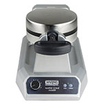Waring WWCM180 Single Waffle Cone Maker w/ Embedded Heating Element & Extra-Deep Drip Pan