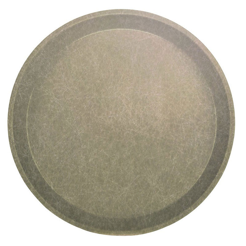 "Cambro 1000104 10"" Round Serving Camtray - Desert Tan"