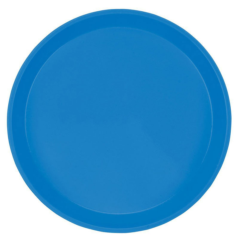 "Cambro 1000105 10"" Round Serving Camtray - Horizon Blue"