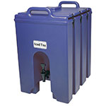 Cambro 1000LCD186 10-gal Camtainer Beverage Carrier - Insulated, Navy Blue