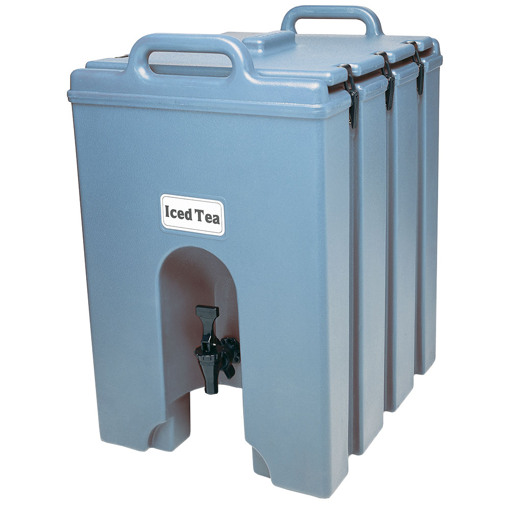 Cambro 1000LCD401 10-gal Camtainer Beverage Carrier - Insulated, Slate Blue