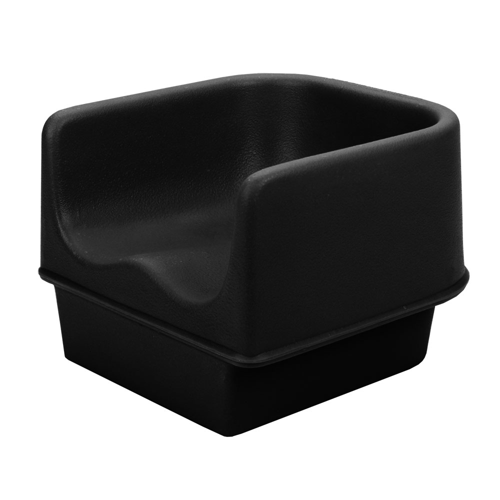 Cambro 100BC110 Single Height Booster Seat - Black
