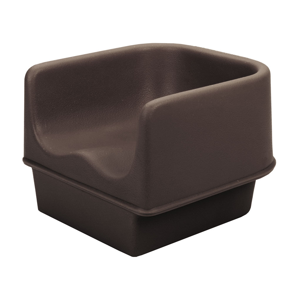 Cambro 100BC1131 Single Height Booster Seat - Dark Brown