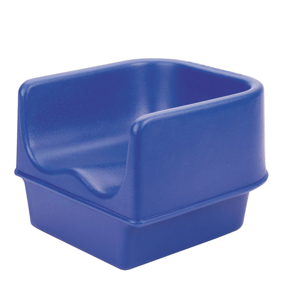 Cambro 100BC186 Single-Height Booster Seat - Polyethylene, Navy Blue