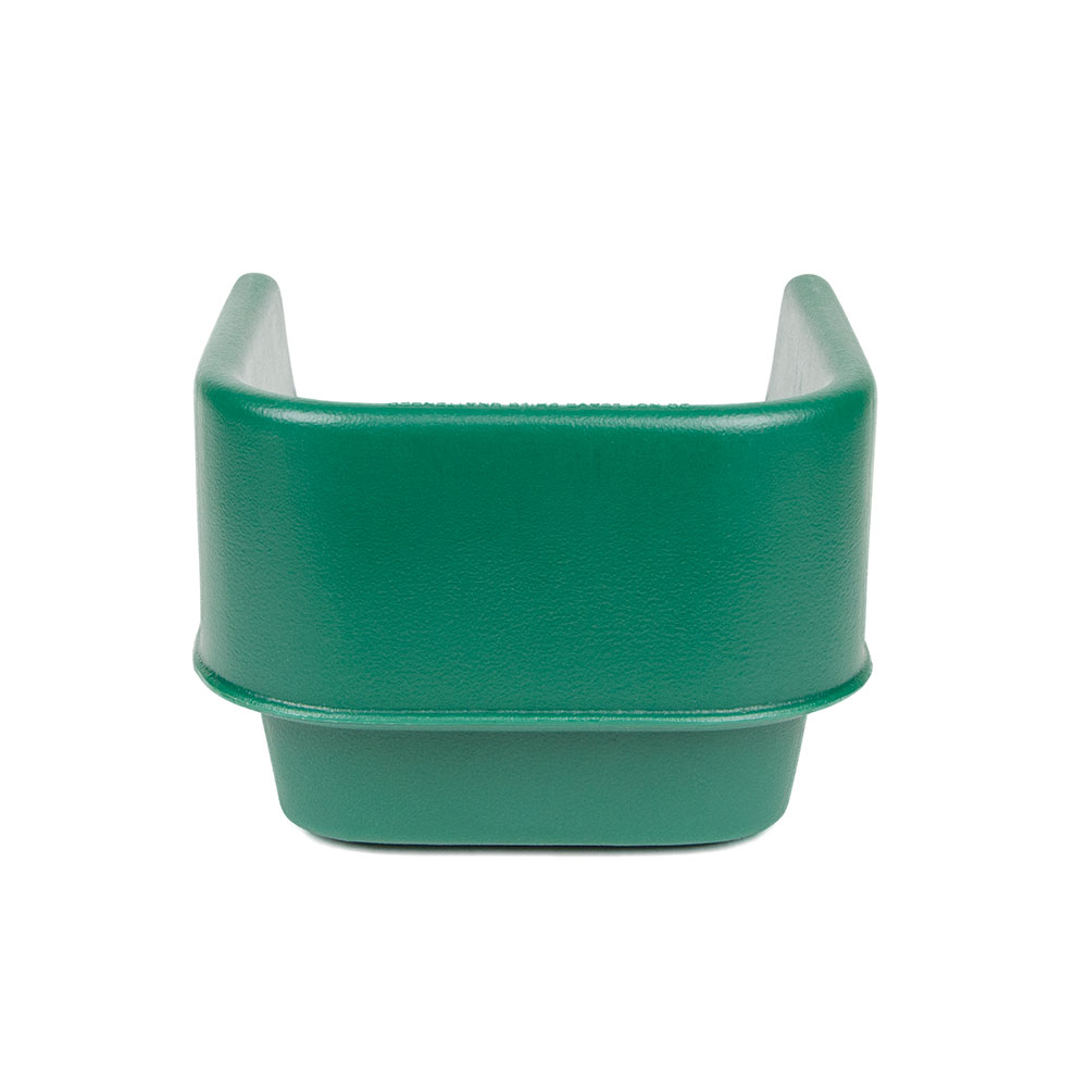 Cambro 100BC519 Single-Height Booster Seat - Polyethylene, Green