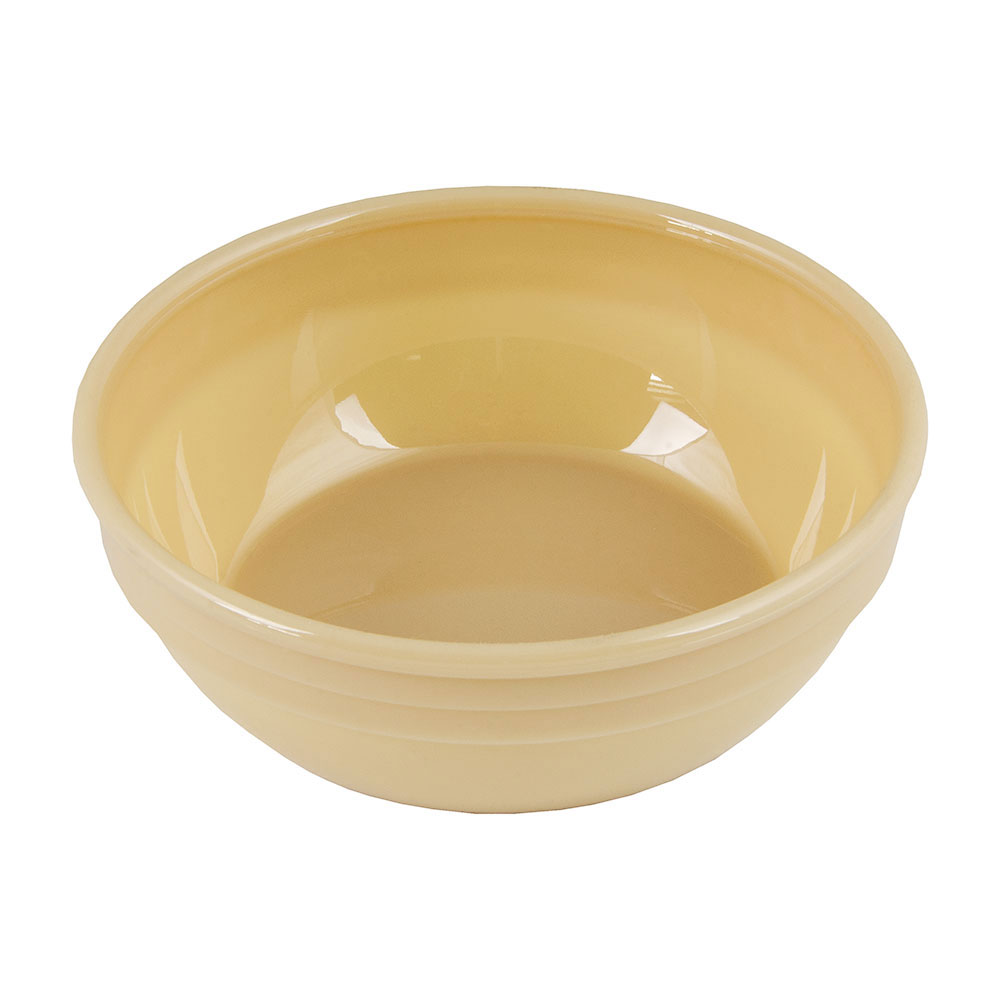 "Cambro 100CW133 5"" Camwear Nappie Bowl - 12-1/2-oz Capacity, Beige"