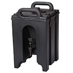 Cambro 100LCD110 1-1/2-gal Camtainer Beverage Carrier - Insulated, Black