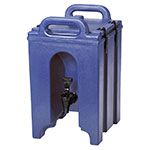 Cambro 100LCD186 1-1/2-gal Camtainer Beverage Carrier - Insulated, Navy Blue