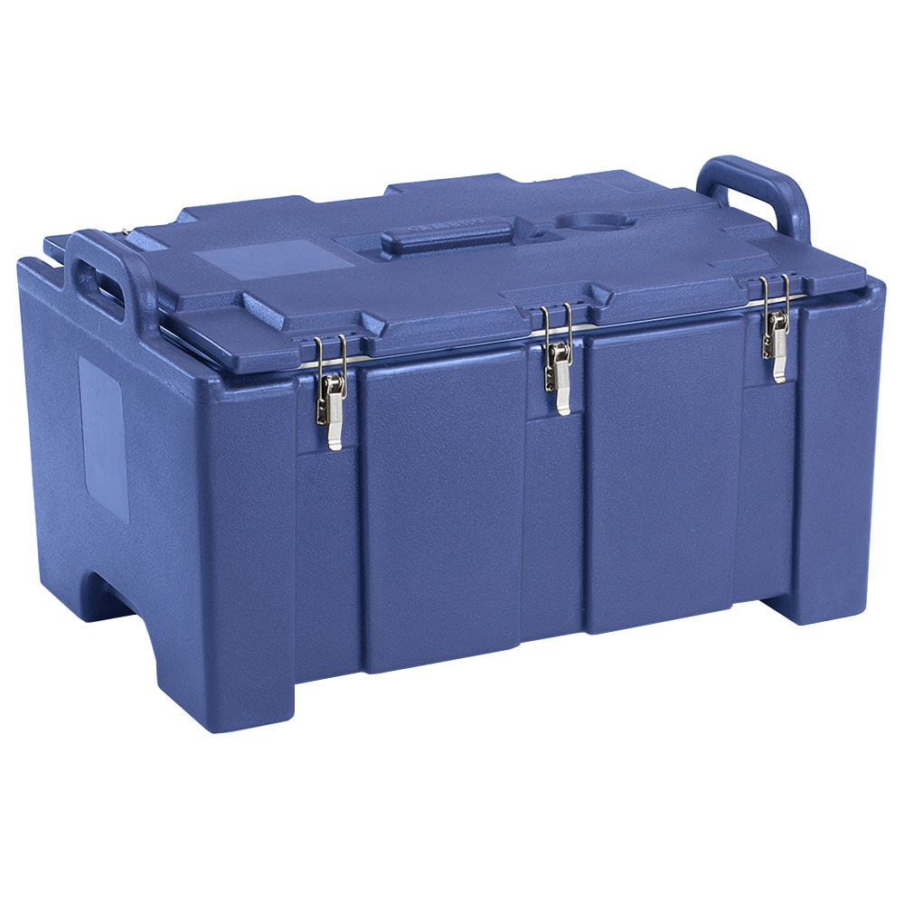 "Cambro 100MPC186 Insulated Food Pan Carrier - 18x26.75x15"" Navy Blue"