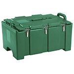 "Cambro 100MPC519 Insulated Food Pan Carrier - 18x26.75x15"" Green"