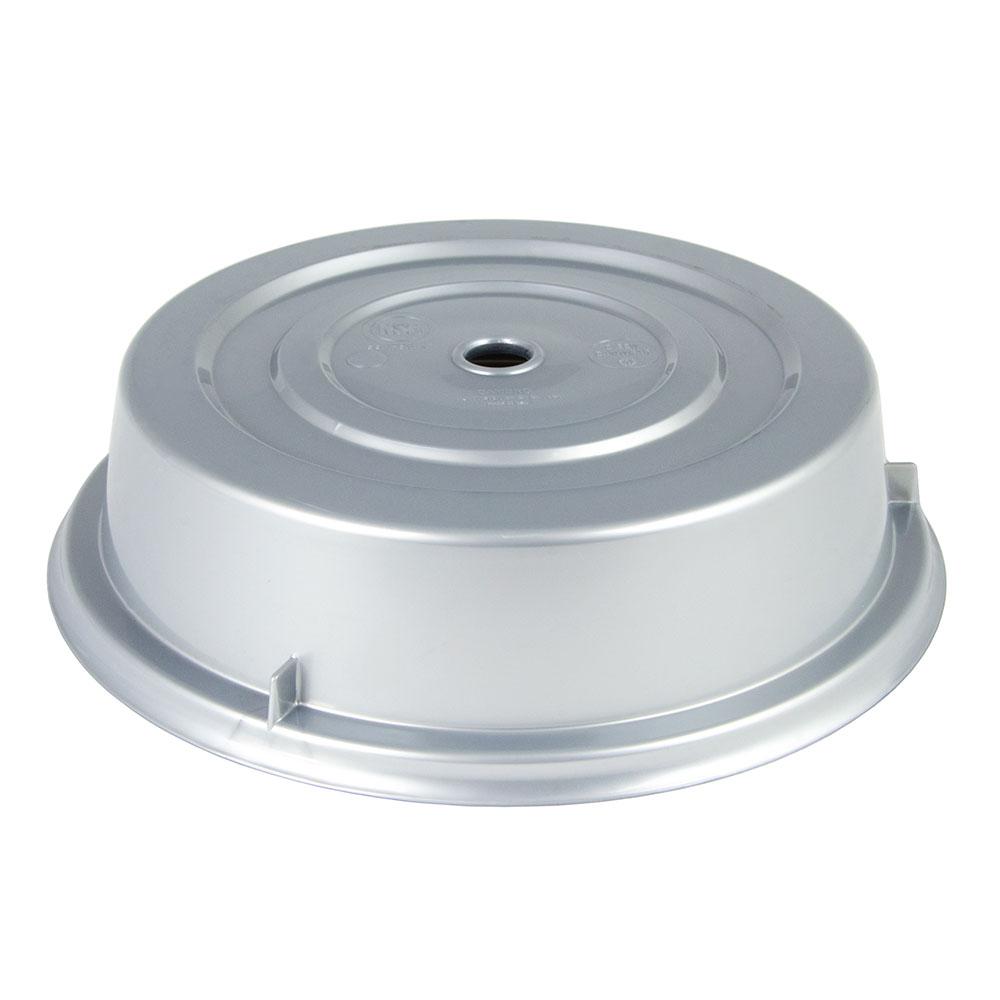 """Cambro 1013CW486 10-13/16"""" Camwear Plate Cover - Silver"""